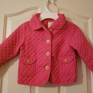 NWOT Cute pink jacket for girls.